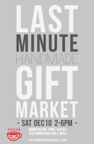 last minute handmade gift market 2016